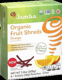 Orange healthy snack