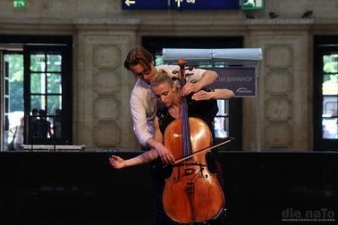 when a Cello meets a dancer.JPG