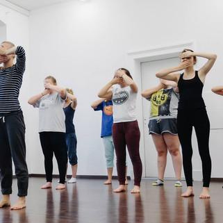 Tanz Workshop in Bethlehem