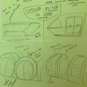 """Adaptable """"Mover"""" Vehicle Initial Brainstorming"""