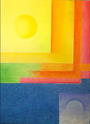 Sun & Moon - SOLD
