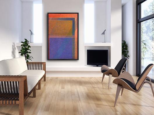 Sonata in Peach on a Wall.jpg