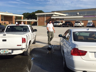 K-9 Unit recently trained at Okeechobee High School