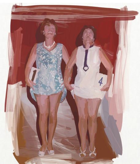 Anna Bush - Lovely Legs