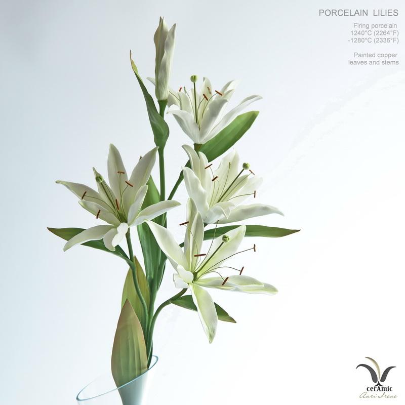 Porcelain lily