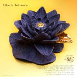 Ceramic lotus Aida