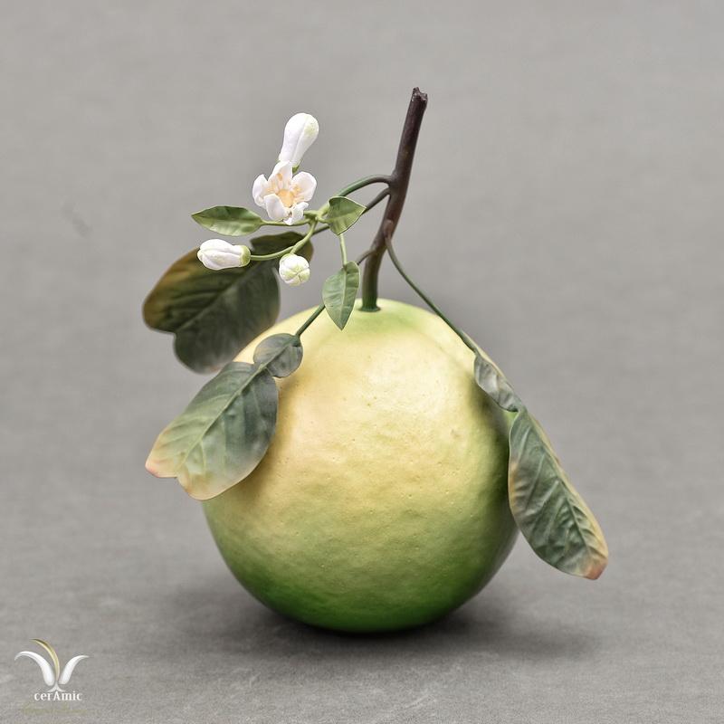 Porcelain grapefruit