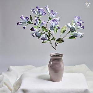 PORCELAIN CAMPANULA FLOWERS