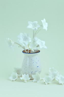 Campanulas of porcelain