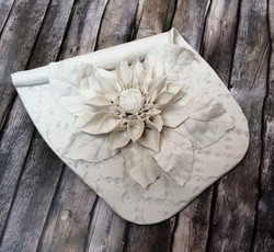 Ceramic wall flower