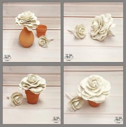 Ceramic decorative cabbage