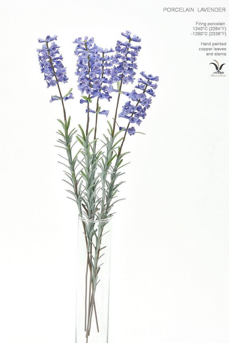 Porcelain lavender