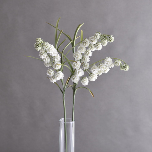 Lilies of the Valley Snowball, porcelain