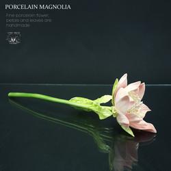 Magnolia ceramic flower