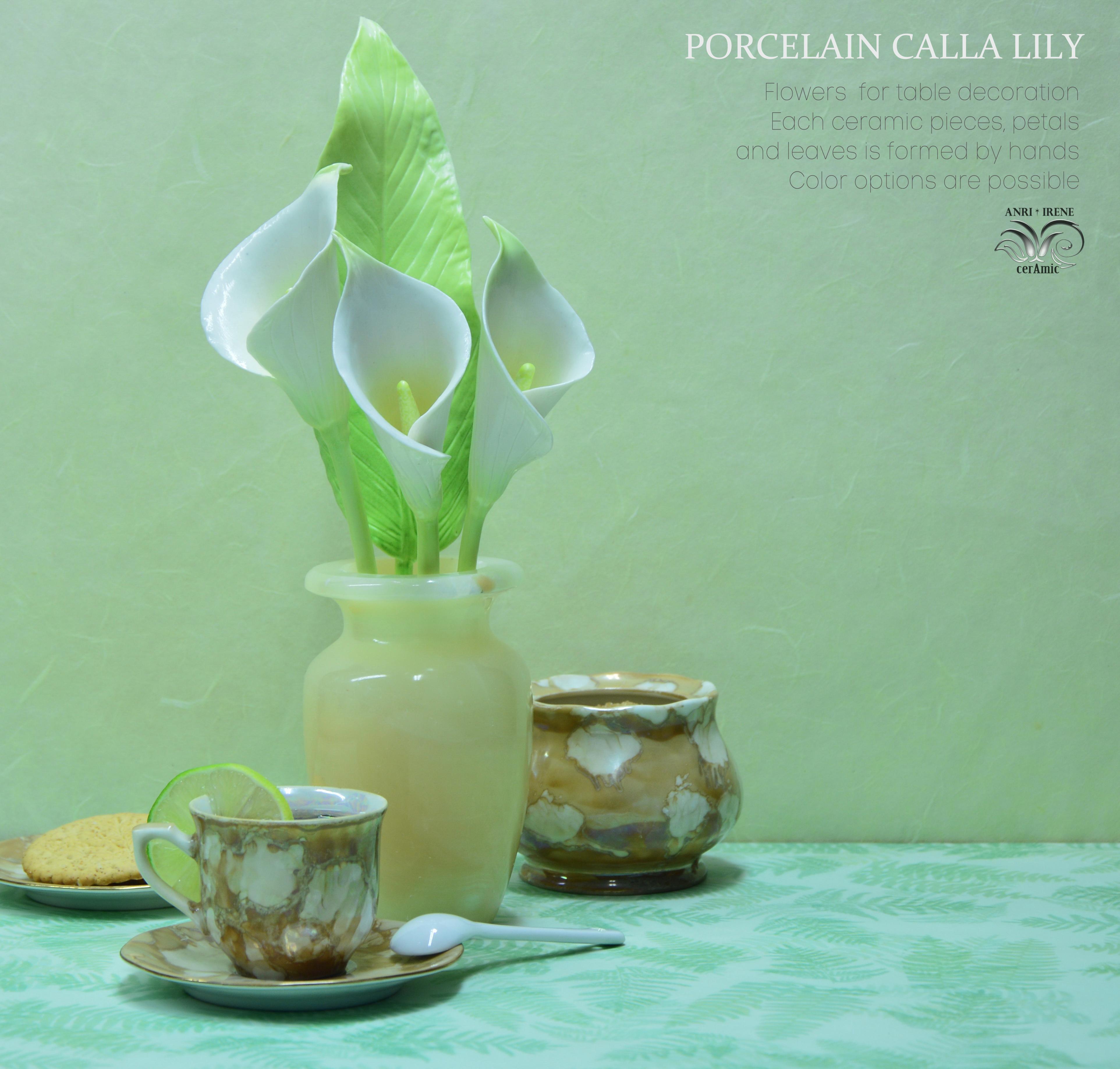 Porcelain calla lily