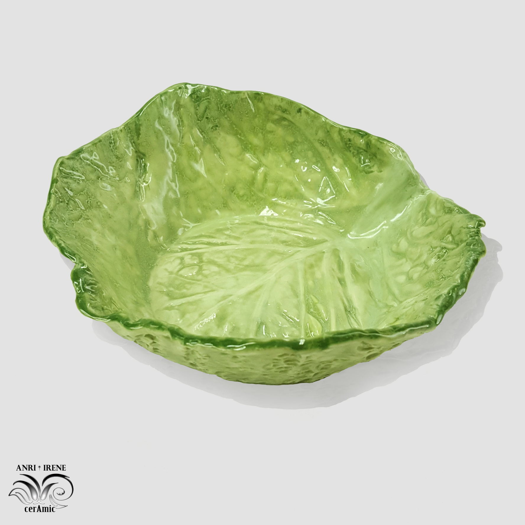 Ceramic lettuce, cabbage tableware