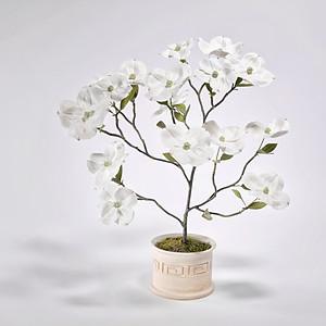 DOGWOOD PORCELAIN FLOWER