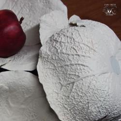 Cabbage texture porcelain