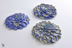 Porcelain sea coral flowers