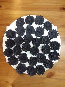 Ceramic lotuses