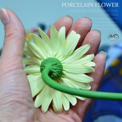 Porcelain flower gerbera