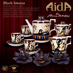 Aida tea set by Anna Netrebko