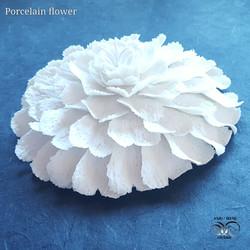 Wall ceramic floral