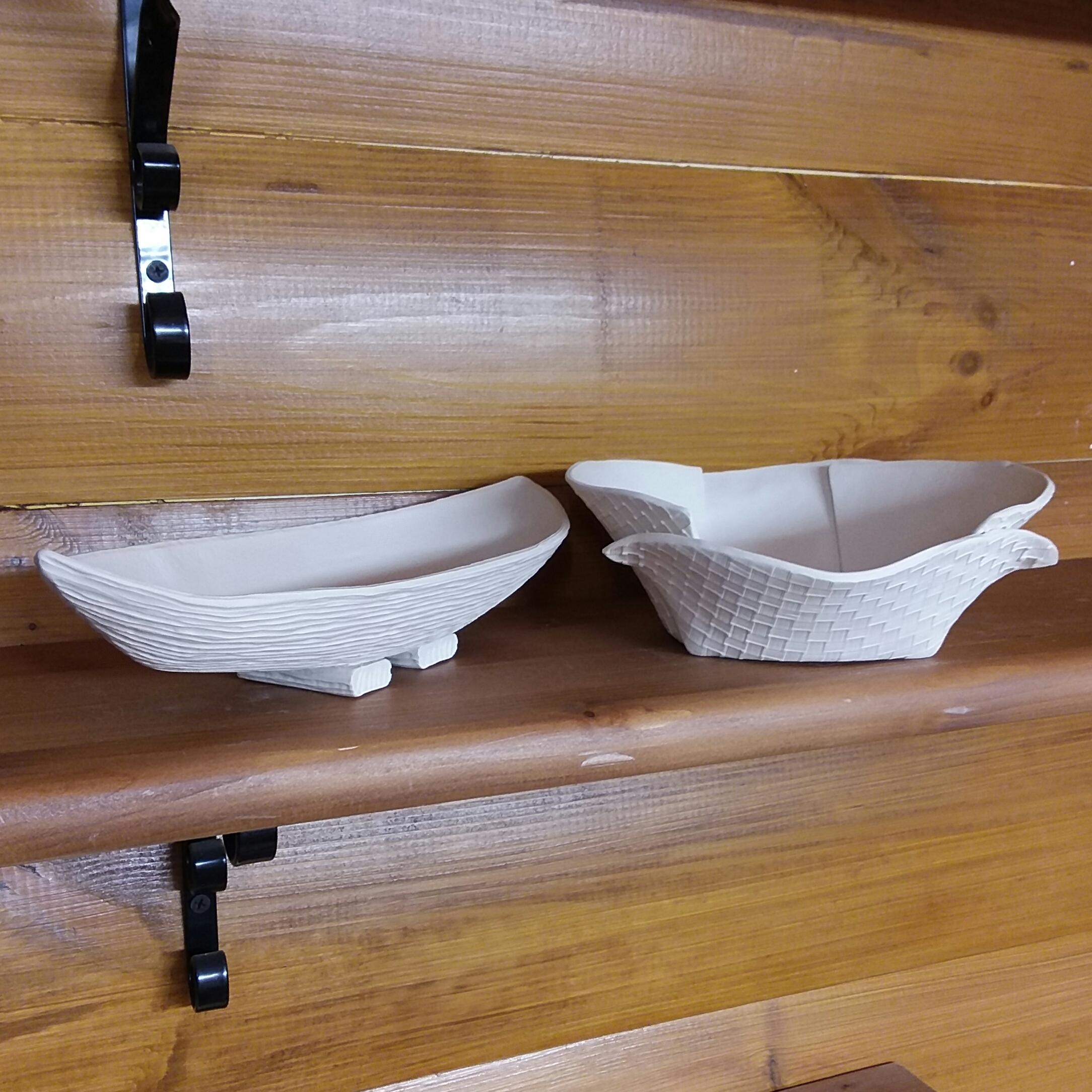 Ceramic vase, bowl