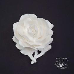 Ceramic flower magnolia