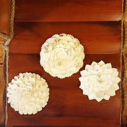 ceramic floral coral