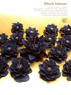 Lotuses Incense Burner Holder