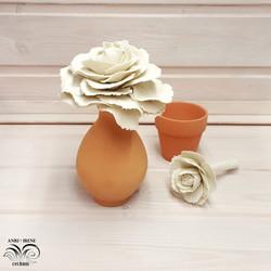 Ceramic cabbage ceramics floral