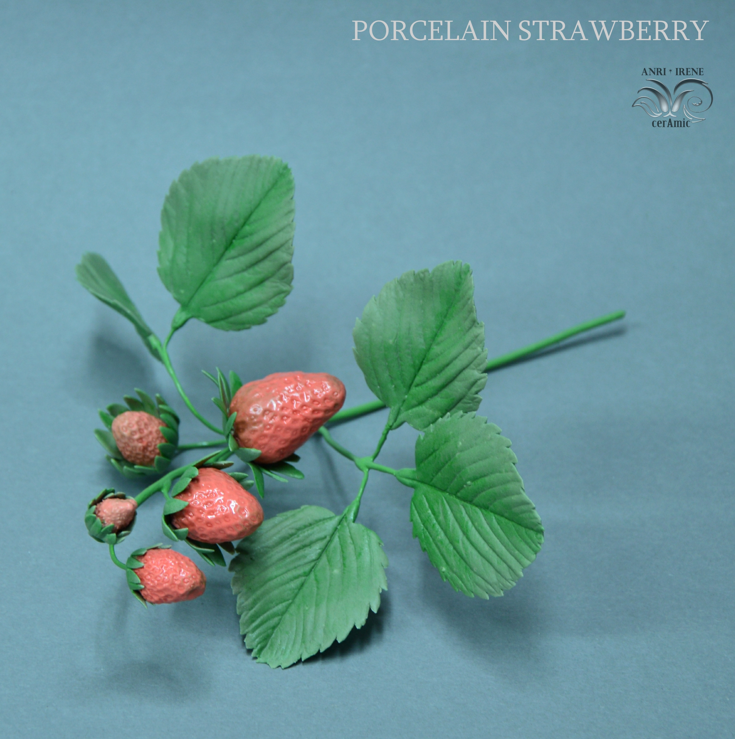 Porcelain strawberry