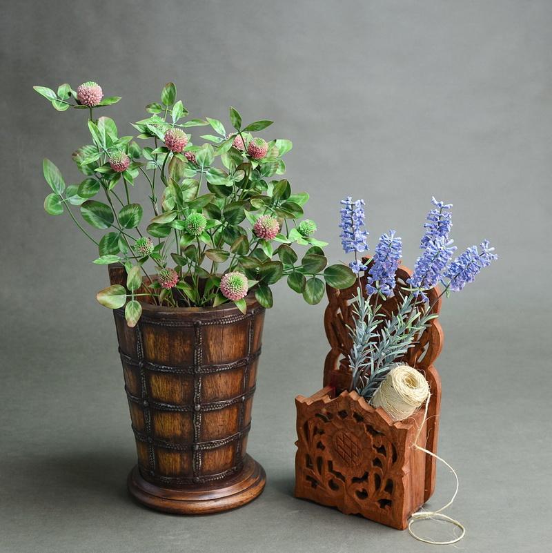 Ceramic wildflowers