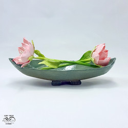 Porcelain magnolias