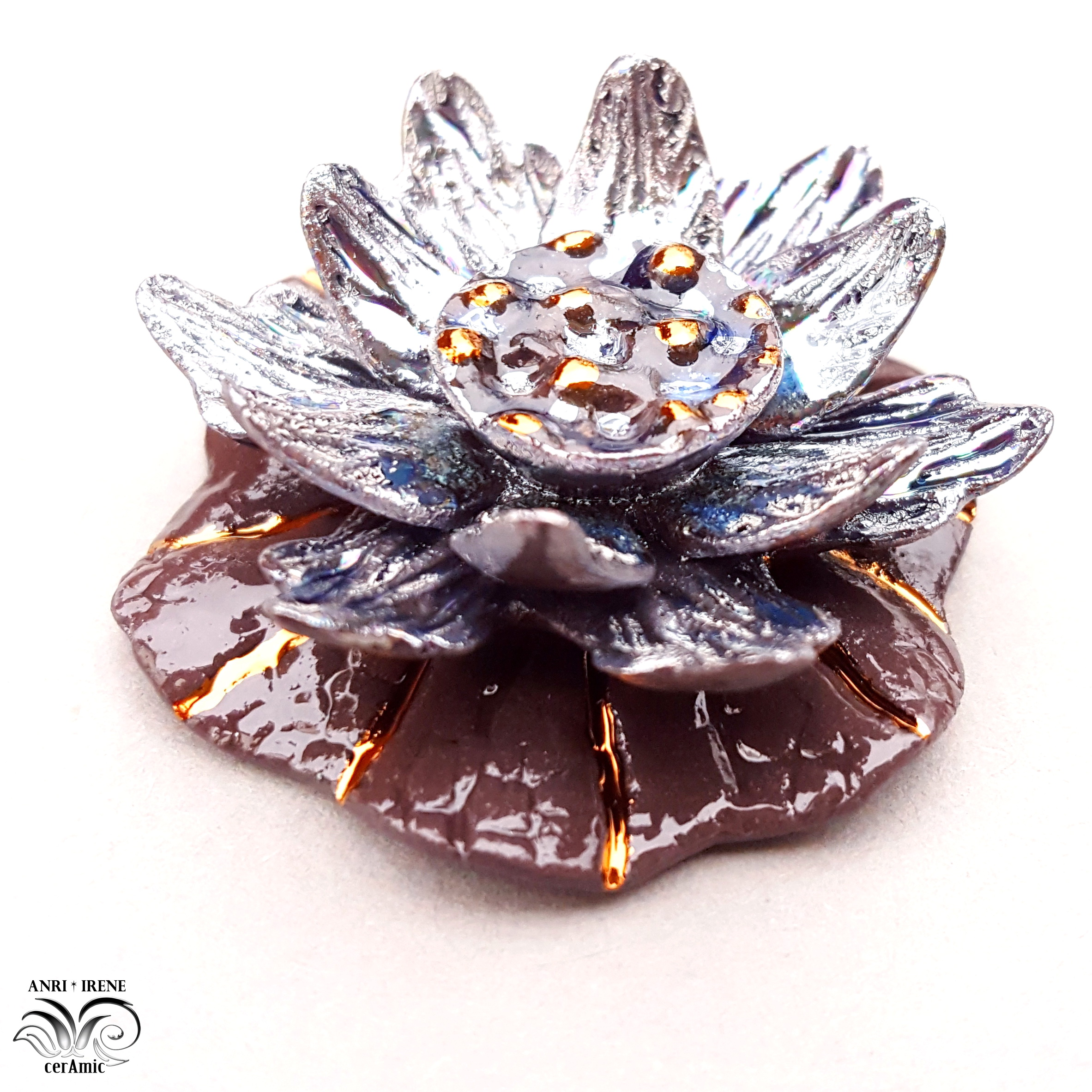 ceramic jewelry lotus