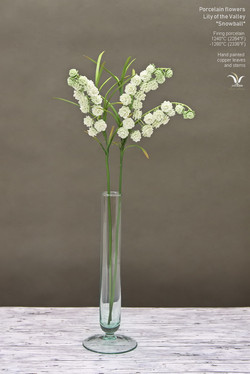 Porcelain Lily of the Valley