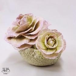 Cabbage tableware vase