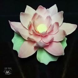Ceramic floral lotus