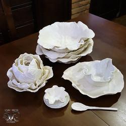 Cabbage tableware porcelain