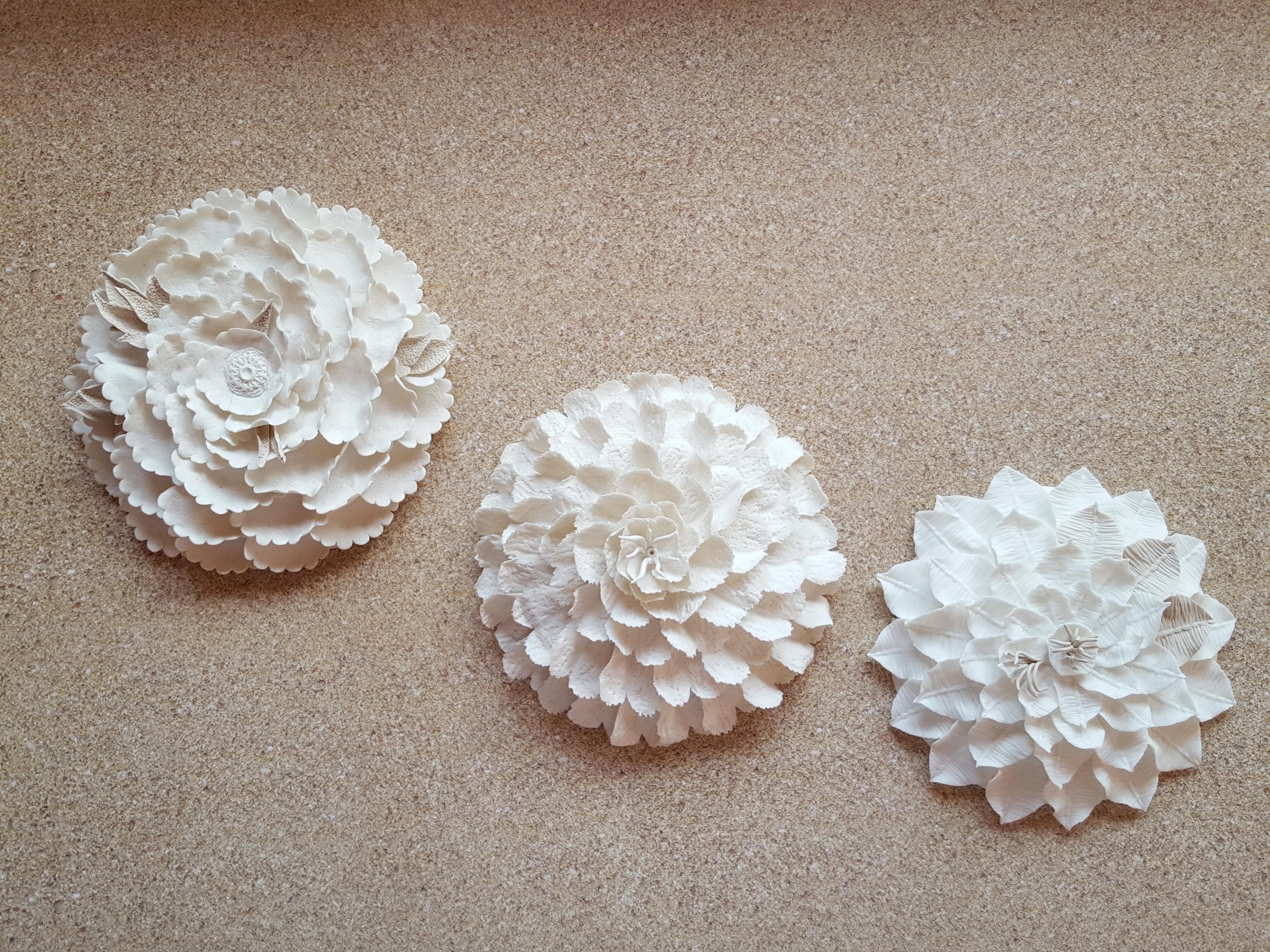porcelain sea flowers