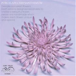 Porcelain chrysanthemum ceramic