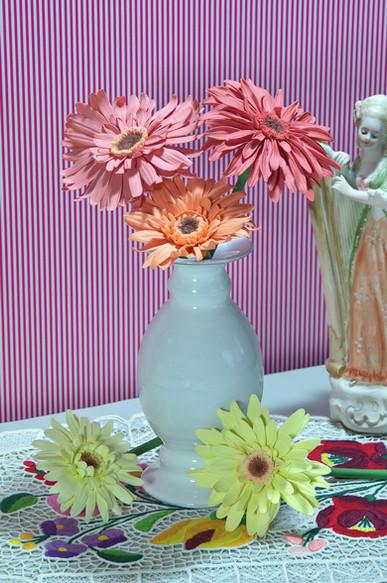 Porcelain gerbera daisy