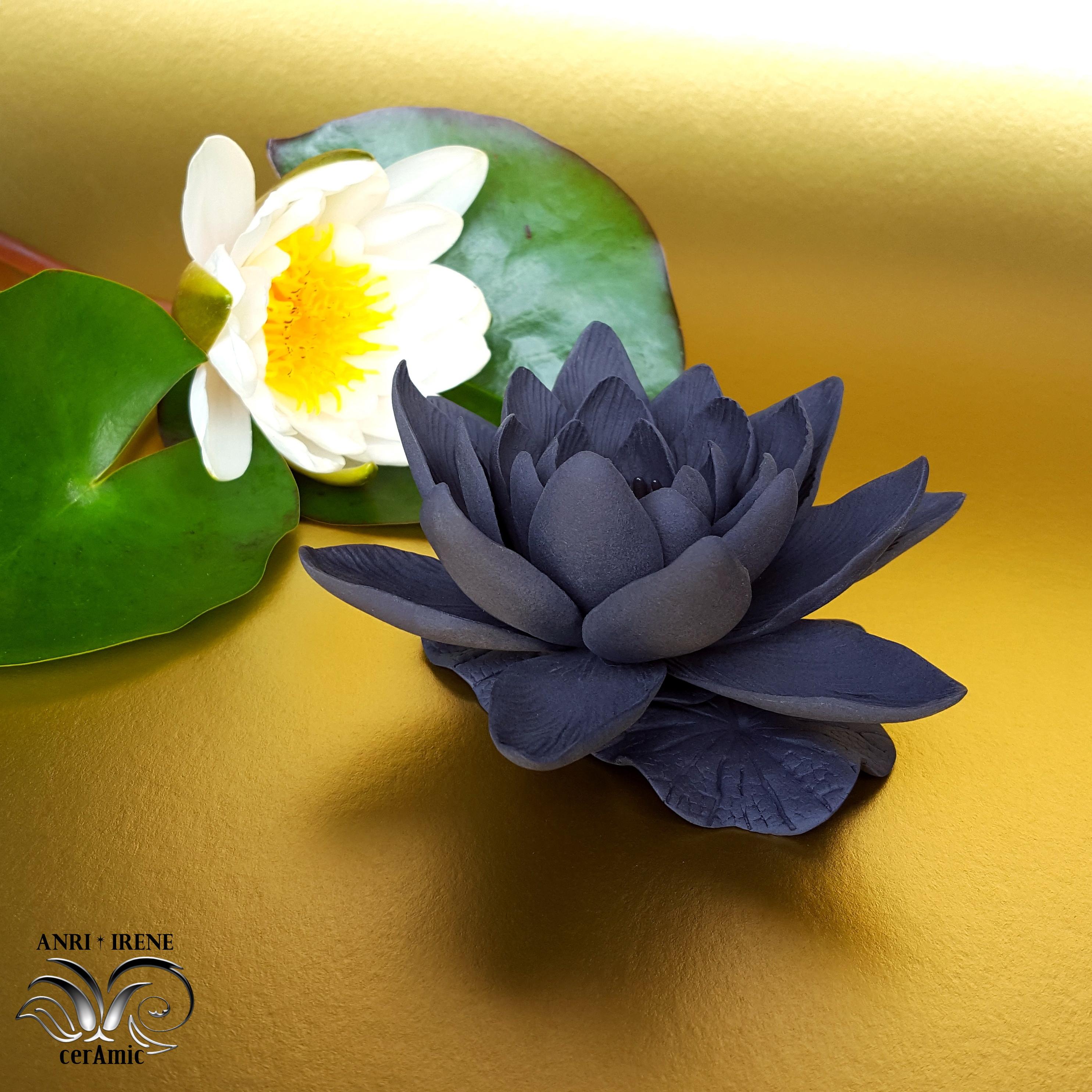 Fleurs en ceramique