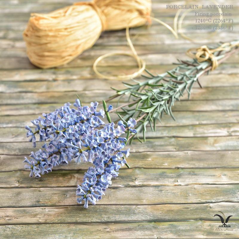 Ceramic lavender