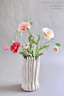 Porcelain poppies