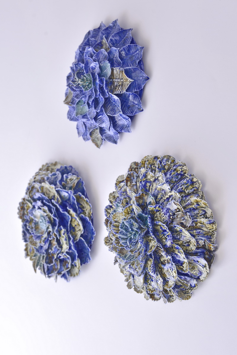 Porcelain sea plants