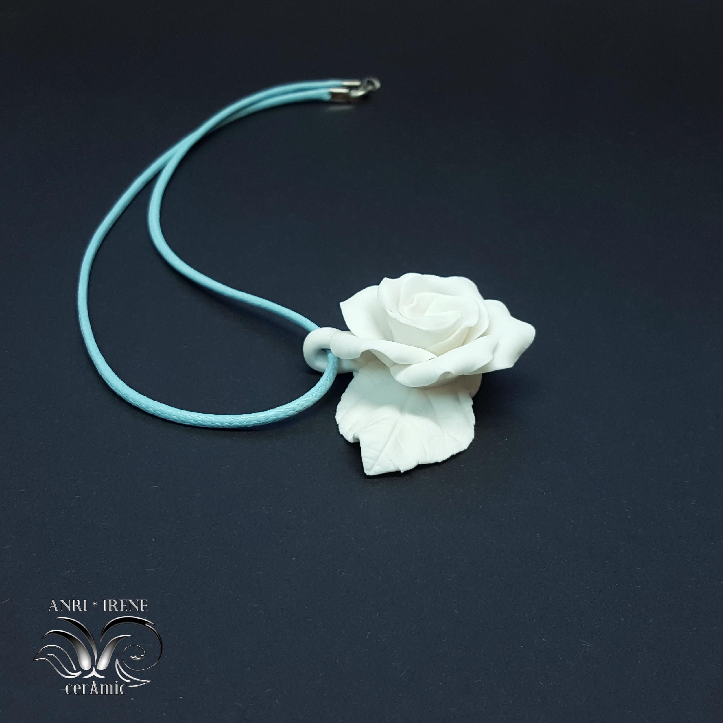 porcelain pendant