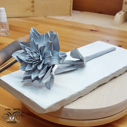 Ceramic flower chrysanthemum