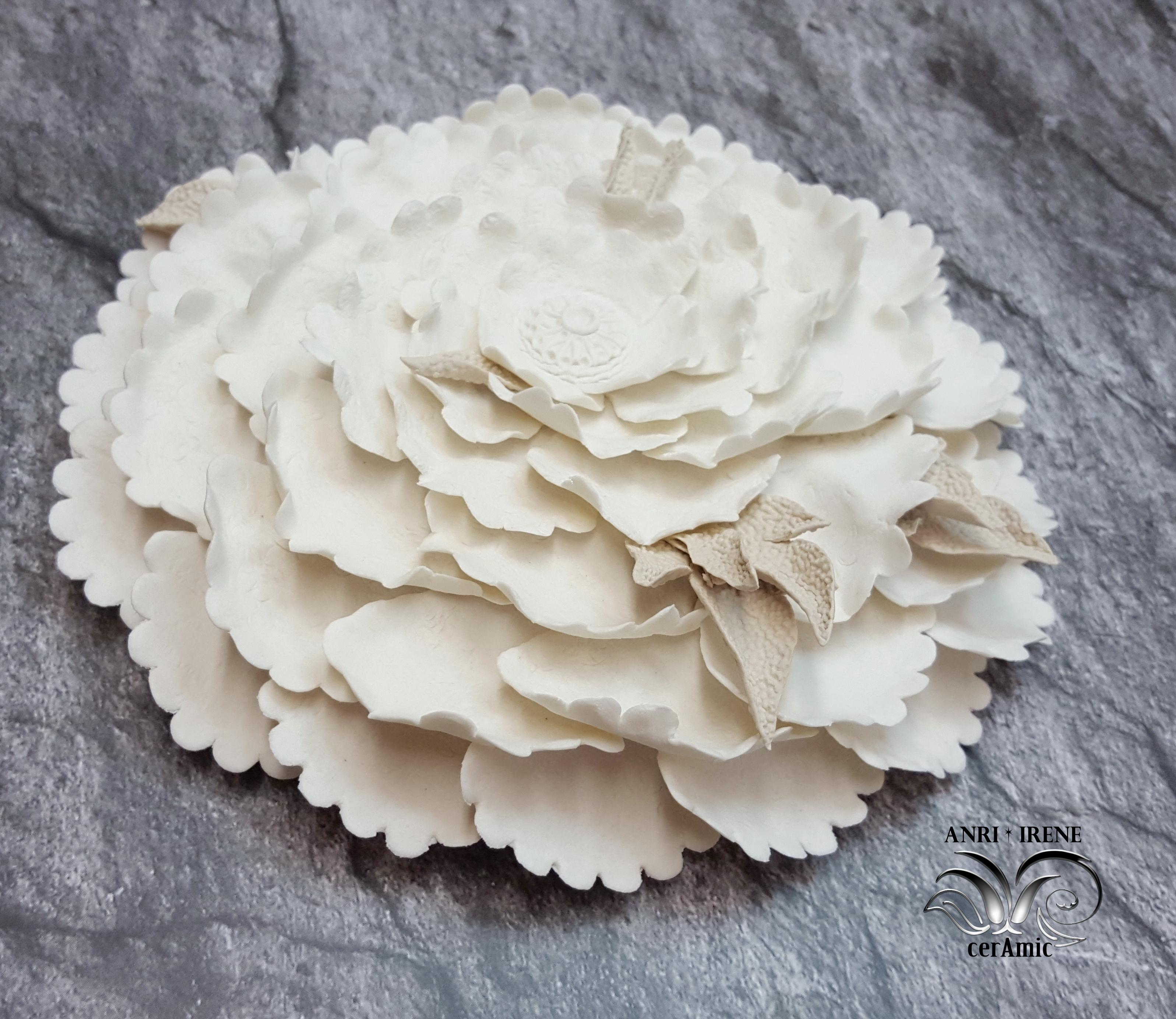 ceramic sea flora, ceramic floral